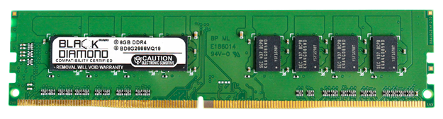 Picture of 8GB DDR4 2666 Memory 288-pin (2Rx8)