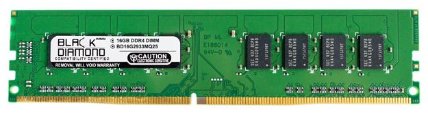 Picture of 16GB DDR4 2933 Memory 288-pin (2Rx8)