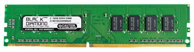 Picture of 16GB DDR4 3200 Memory 288-pin (2Rx8)