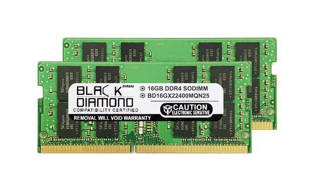 Picture of 32GB Kit(2X16GB) DDR4 2400 SODIMM Memory 260-pin (2Rx8)